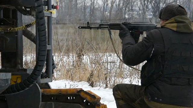 Донецк: бои за аэропорт и доклад ОБСЕ