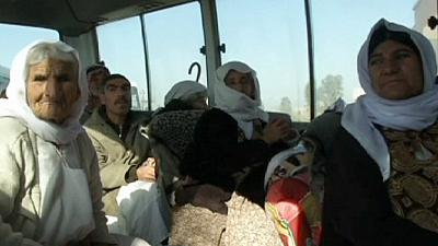 Yazidis freed by militant Islamic State