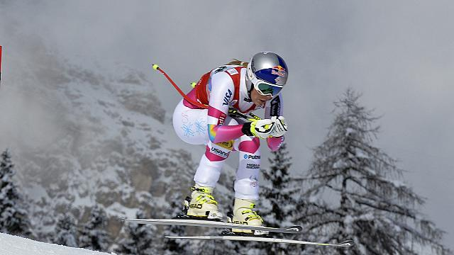 Vonn the bomb defies gravity and serious injury to equal the record of World Cup wins