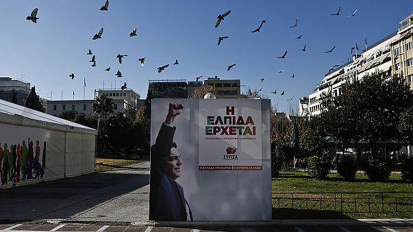 A felmérések a Sziriza győzelmét jósolják Görögországban
