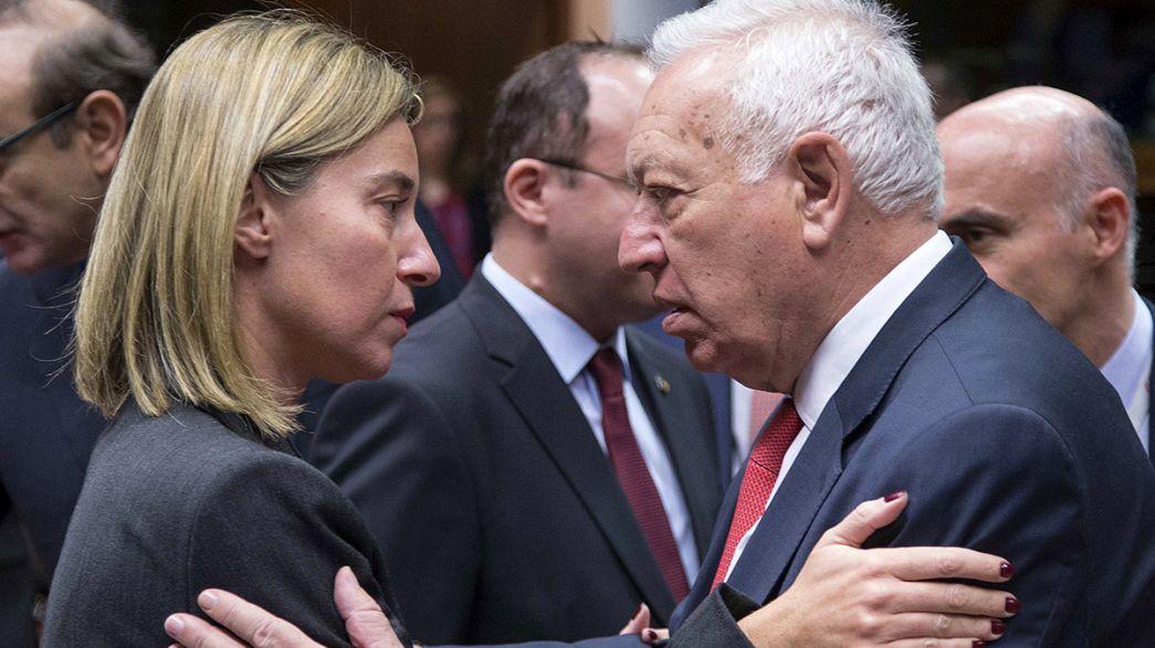 Ministros de Exteriores de la UE buscan fórmulas para combatir el terrorismo yihadista
