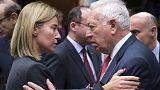 Брюссель. Главы МИДа стран ЕС обсуждают борьбу с терроризмом и отношения с Россией