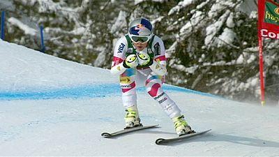 Ski : Lindsey Vonn au sommet du monde