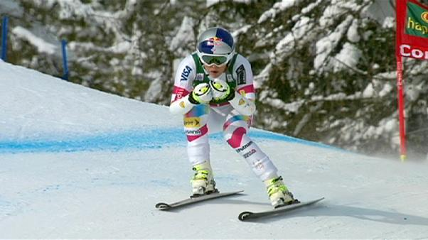 Vonn becomes the World Cup's most successful female skier