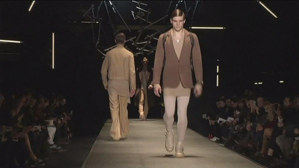 В Милане началась неделя дефиле коллекций мужской одежды