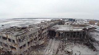 Битва за Донецкий аэропорт. Киев и Москва обвиняют друг друга в срыве мирных договоренностей