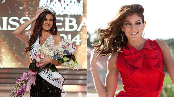Αντιδράσεις για τη «selfie» της Μις Ισραήλ με τη Μις Λίβανος
