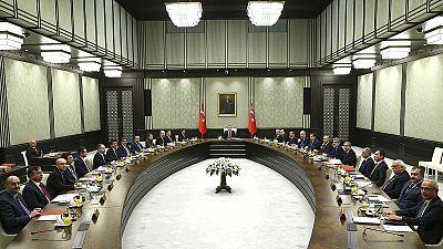 Erdogan stirs power concerns by chairing Turkish cabinet meeting