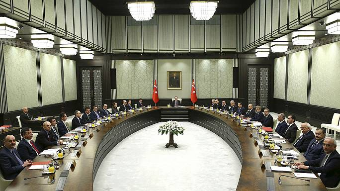Erdogan stirs power concerns by chairing Turkish cabinet meeting