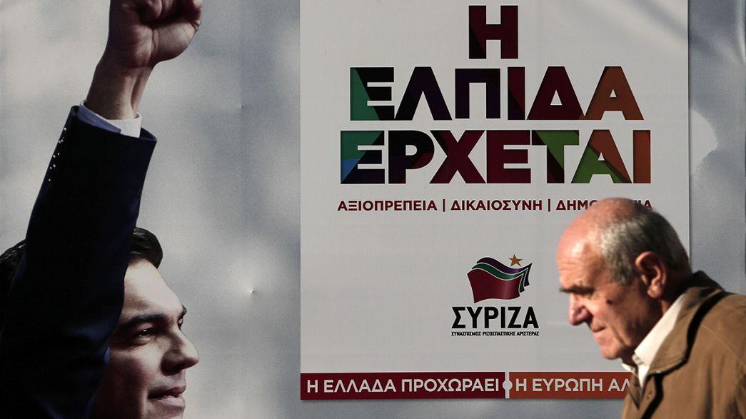 Grécia: Syriza equaciona coligações possíveis, em caso de vitória sem maioria aboluta