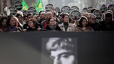 Thousands march for journalist Dink murder anniversary