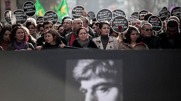 Istanbul: Gedenken an ermordeten türkisch-armenischen Journalisten Hrant Dink