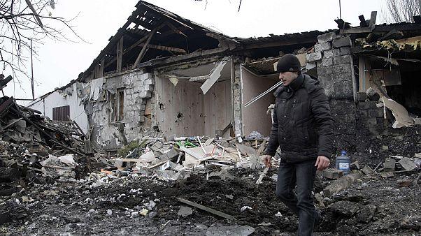 Донецк: снаряд попал в больницу