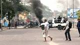 "Several deaths reported in Kinshasa after protests against electoral reforms opposition brands a ""constitutional coup"""