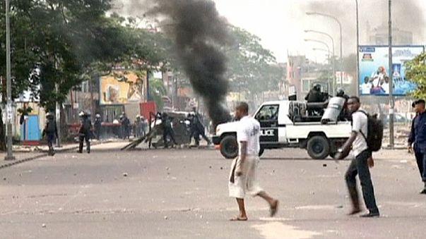 La policía congoleña reprime a tiros varias manifestaciones prodemocráticas en Kinshasa