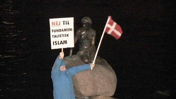 Dániában is felvonult a bevándorlásellenes Pegida