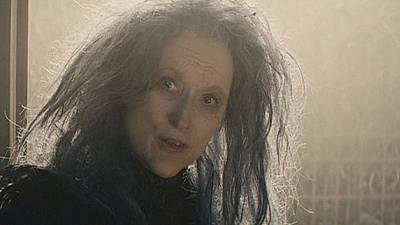 "Meryl Streep als Oscar-reife Hexe in ""Into the Woods"""