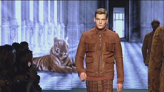 رجل غوتشي بلمسات أنثوية في أسبوع الموضة الرجالية بميلانو