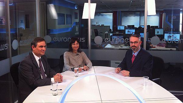 Εκλογές 2015: Λυμπεράκη- Σαχινίδης στο προεκλογικό debate του euronews