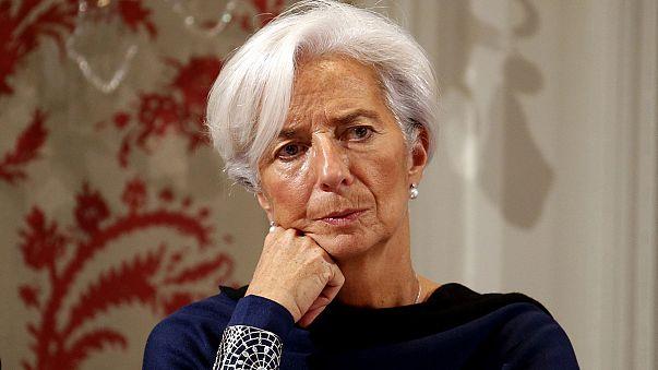 IMF's Lagarde defends austerity ahead of crucial Greek vote