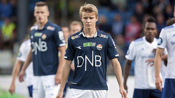 Ødegaard, el niño prodigio del fútbol noruego vestirá la camiseta del Real Madrid
