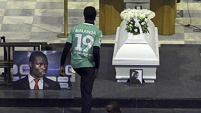 Malanda funeral held in Brussels