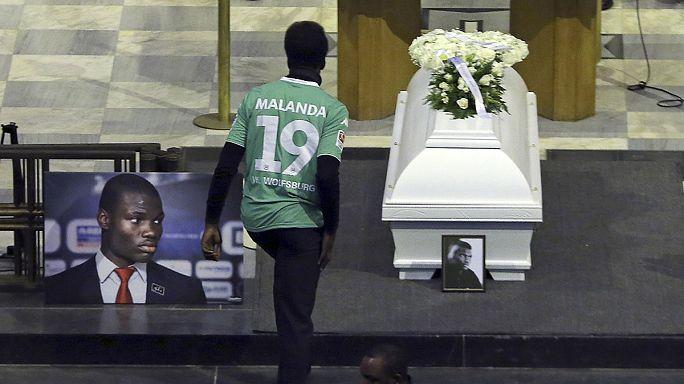 Funérailles de Junior Malaga, espoir du football belge