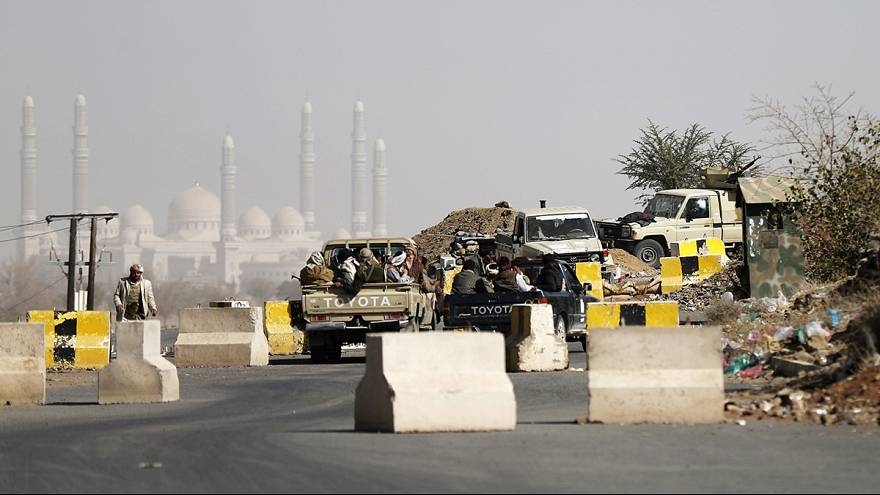 Йемен. Шиитские мятежники захватили президентский дворец