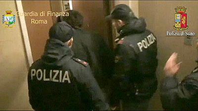 Golpe a la mafia calabresa en Roma