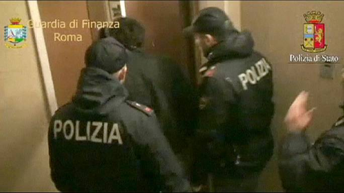 Italie : vaste coup de filet anti-mafia à Rome