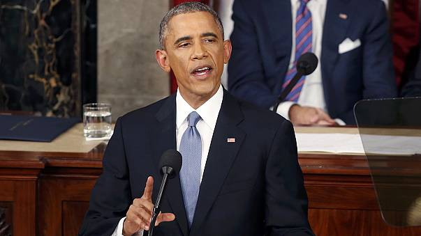 Obama calls on Republicans to end partisan politics in his sixth State of the Union
