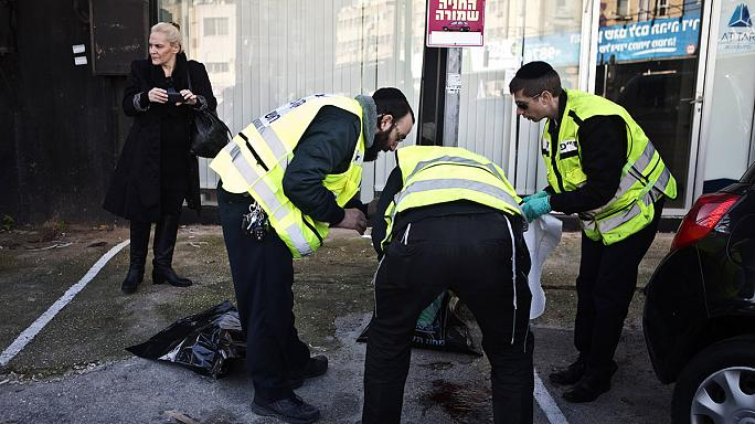 Palestinian man shot after allegedly stabbing several bus passengers