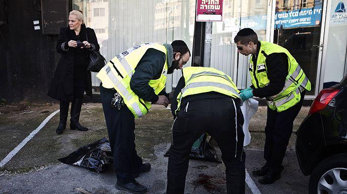 İsrail'de belediye otobüsünde bıçaklı dehşet