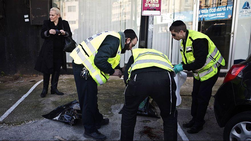 Palestinian man shot after allegedly stabbing several bus passengers