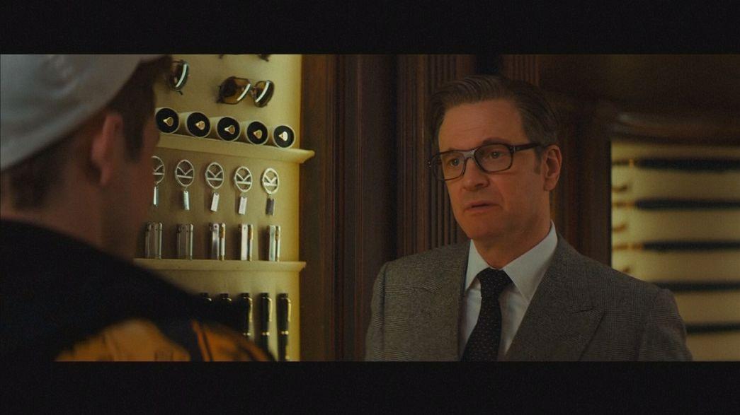 """Colin Firth """"Kingsman"""" ile kral tacını sokak serserilerine bırakacak"""