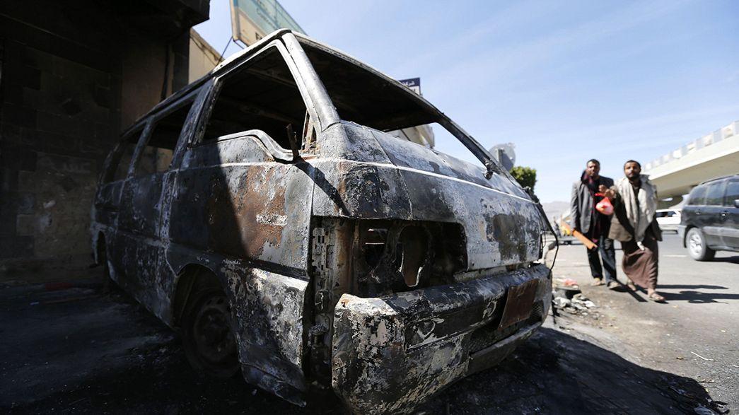Los rebeldes hutíes se apoderan del palacio presidencial