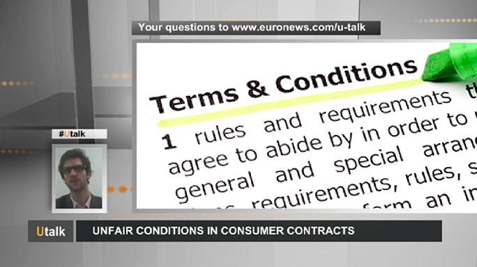 Tisztességtelen feltételek a fogyasztói szerződésekben