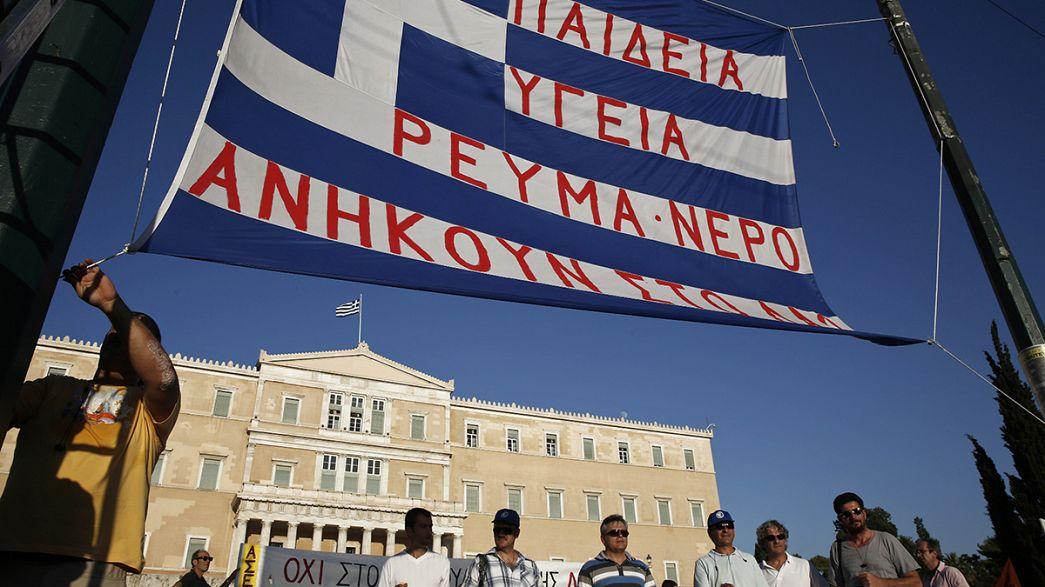 اليونان ، الصحة و التعليم في مفترق الطرق .