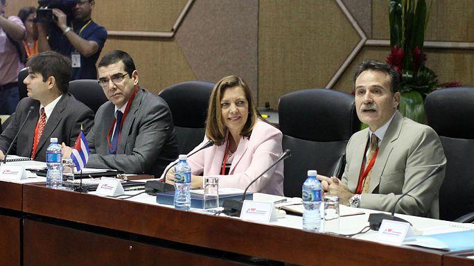 Pourparlers entre hauts responsables cubains et américains