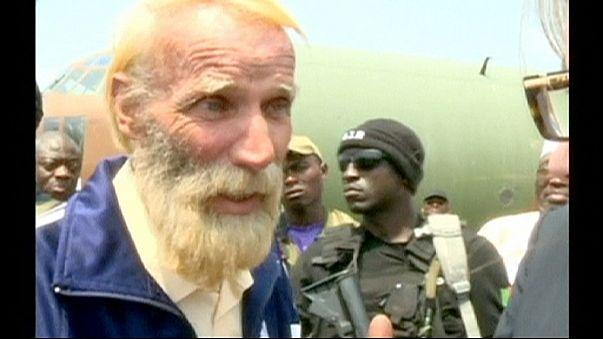 إطلاق سراح الألماني روبرت نيتش إيبرهارد بعد اختطافه من قبل جماعة بوكو حرام في يوليو/ تموز الماضي