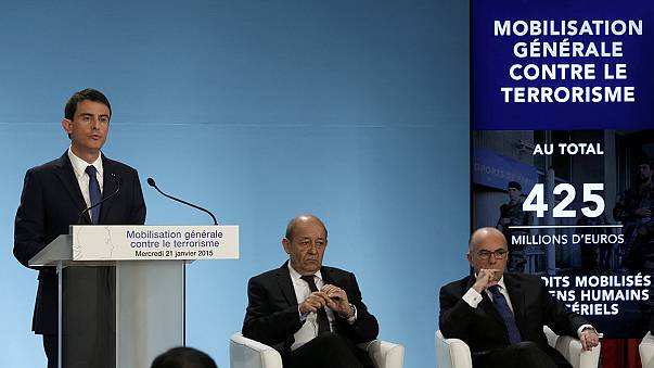 Francia: 425 millones de euros y 3.000 efectivos extra contra el terrorismo