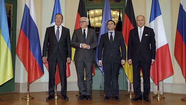 تقدم ديبلوماسي ملموس لحلّ الصراع شرق أوكرانيا