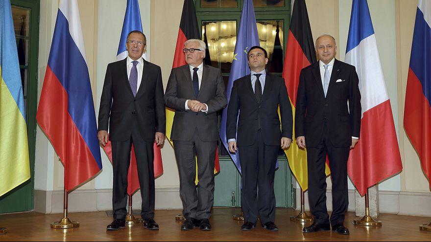 Kiev y Moscú, de acuerdo en retirar las armas pesadas del este de Ucrania