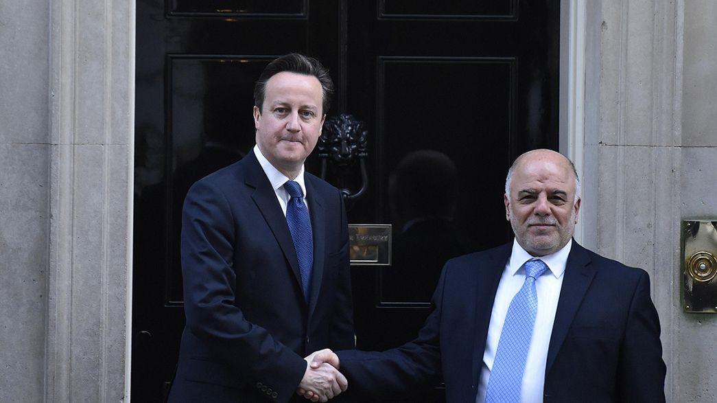 Coligação anti-Estado Islâmico reúne-se em Londres
