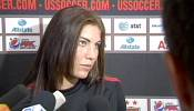 Hope Sole suspended from US women's soccer team for 'incident'
