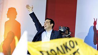 پیشتازی حزب سیریزا در آستانه انتخابات پارلمانی یونان