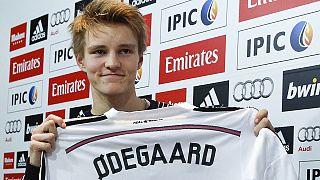Martin Ødegaard, o galáctico de 16 anos do Real Madrid