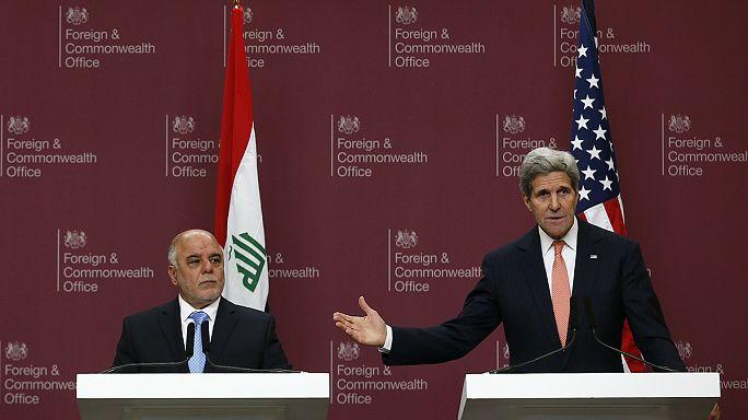 Kerry: Irakban sikerült feltartóztatni az Iszlám Állam terjeszkedését