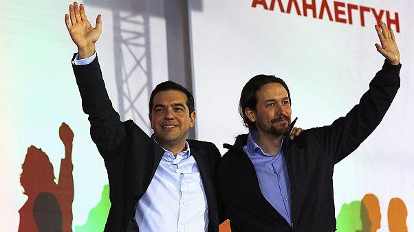Εκλογές 2015: «ΣΥΡΙΖΑ - Ποδέμος VENCEREMOS»