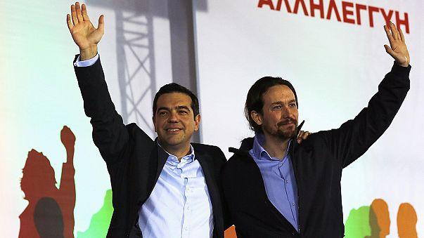 Syriza cierra su campaña en Grecia cerca de la mayoría absoluta según los sondeos